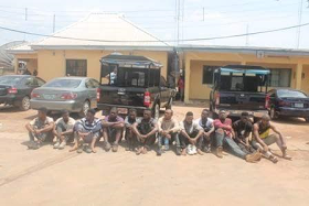Police Arrest 31 Suspected Cultists During Initiation