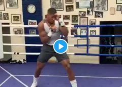 """He Who Laughs Last Laughs Hardest"" – Anthony Joshua Trains Ahead Of Andy Rematch"