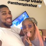DJ Cuppy And Anthony Joshua Laugh At Each Other As They Try To Speak Yoruba
