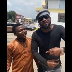 Suya Seller Takes Picture With Rudeboy And Calls Himself A Fan